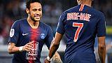 Neymar rejoue avec le PSG en Ligue 1 après trois mois de blessure