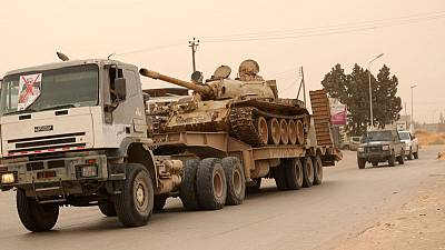 Tripoli forces push opponents back slightly south of Libyan capital - witnesses