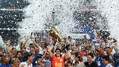 Late goal from Love gives Corinthians Sao Paulo state title