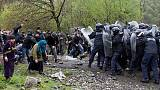 Police in Georgia clash with protesters against hydro plant