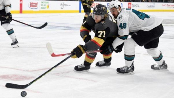 Play-offs NHL: San Jose contrarie Las Vegas