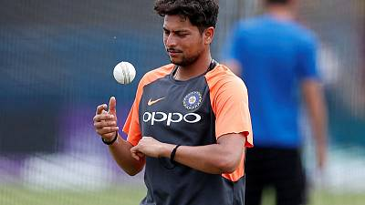 Cricket - Kuldeep's loss of form worrying for India before World Cup