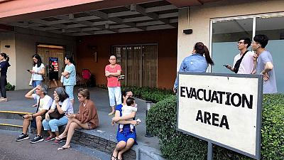 Eight killed, dozens feared trapped after earthquake hits Philippines