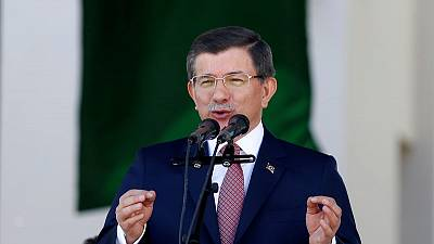 Former Turkish PM Davutoglu sharply criticises Erdogan's AK Party