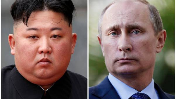 Russia's Putin, North Korea's Kim on track to meet by end of April - Kremlin