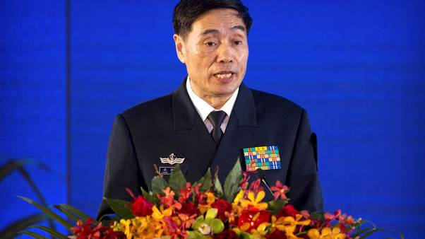 China wants 'tranquillity', navy chief says ahead of new warships reveal