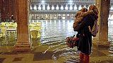 A Venezia prevista marea 105 centimetri