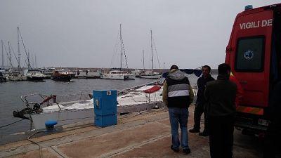 Naufragio in Sardegna, muore turista