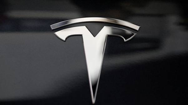 Tesla says robotaxis coming next year, touts self-driving microchip