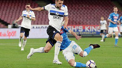 Atalanta sink Napoli to move closer to top four finish