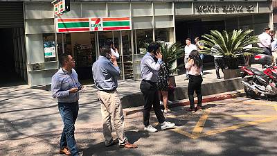 Moderate earthquake shakes Mexico, no damage reported