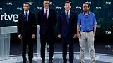 Spanish general election candidates clash over Catalonia