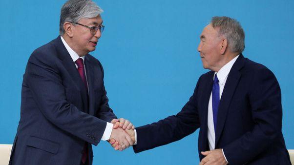 Kazakhstan's Tokayev gets veteran leader's backing for presidency