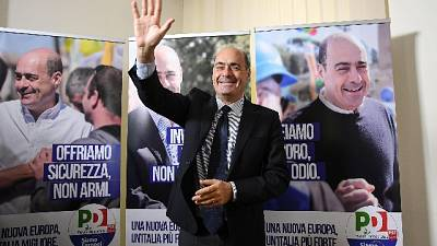 Europee:Zingaretti,uniti salviamo Italia