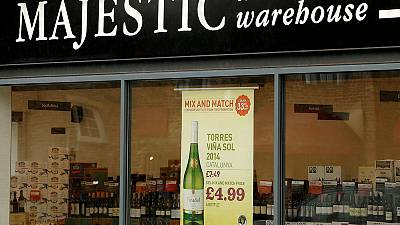 Majestic Wines explores sale of UK retail business - Sky News