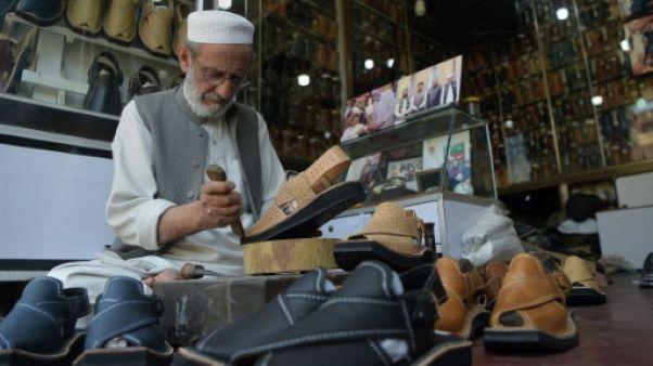 """L'""""Imran"""", un zeste de Pakistan dans des sandales Louboutin"""