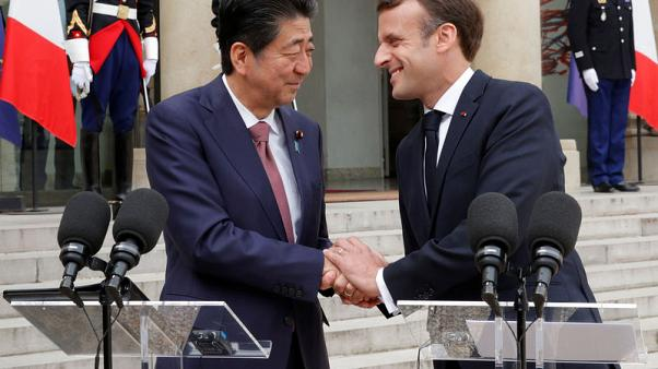 Macron and Abe discuss Renault-Nissan and Ghosn investigation