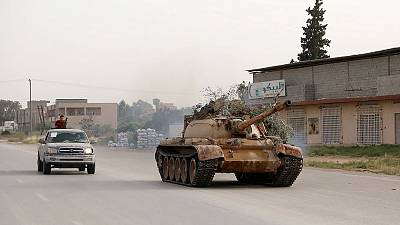 Libyan forces push back Haftar's forces south of Tripoli - witnesses