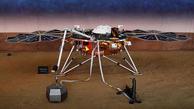 NASA probe detects likely 'marsquake' - an interplanetary first