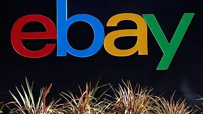 EBay's strong quarter, robust forecast send shares five percent higher