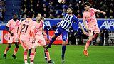 Barcelona on verge of Liga title after beating Alaves