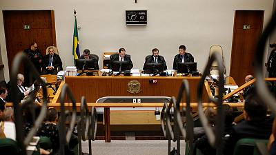 Brazil court trims Lula sentence, opening door to partial detention