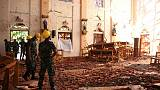 الشرطة: ارتفاع عدد القتلى في تفجيرات سريلانكا إلى 359