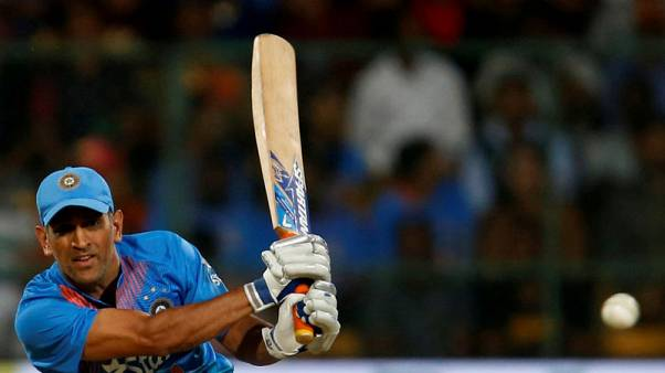 Cricket - India's Dhoni to rest before World Cup if back trouble worsens