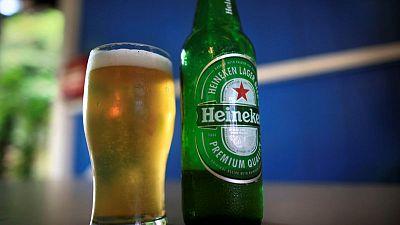 Heineken sells more beer in all regions despite later Easter