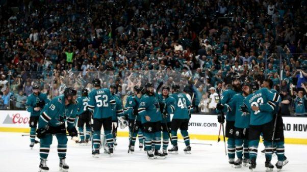Play-offs NHL: Las Vegas victime du fou come-back de San Jose