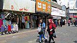 Rue commerçante de Téhéran le 23 avril 2019