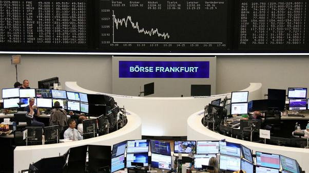 European shares dip as China policy concerns temper earnings boost