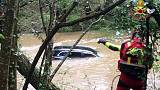 Auto travolta da torrente,morta dispersa
