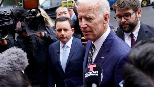 Minorities, older adults boost Biden atop 2020 Democratic field - Reuters/Ipsos public poll