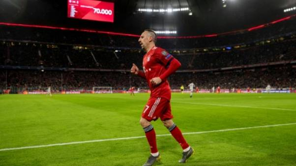 Foot: Ribéry, souffrant de douleurs musculaires, privé de demi-finale de Coupe d'Allemagne