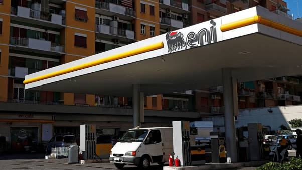 Italy's Eni keeps production outlook as first quarter profit misses forecast