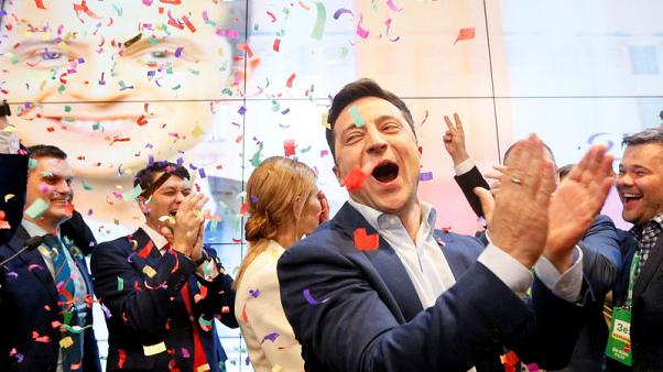 Peace, honesty and cheap gas - Ukraine's new leader shoulders high expectations