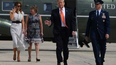 """Trump menace d'envoyer des """"soldats armés"""" à la frontière avec le Mexique"""