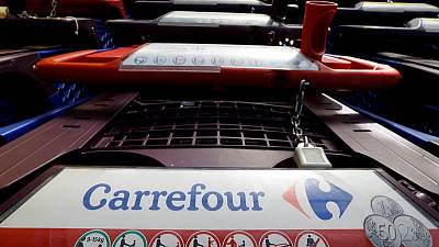 Retailer Carrefour's first quarter sales growth accelerates as France improves