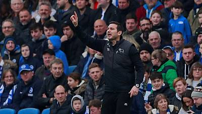 FA charge Derby's Lampard for confronting referee