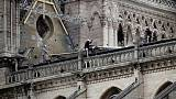 Scaffolding firm says workers smoked at Paris' Notre-Dame