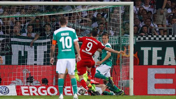 Bayern reach German Cup final to keep double in sight