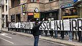 Striscione fascista:presa distanza Lazio