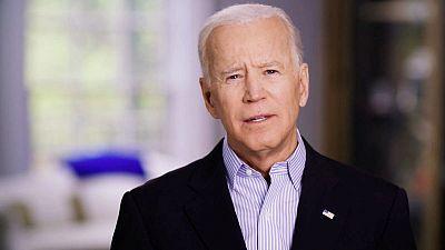 Former Vice President Biden launches White House bid as Democrat frontrunner