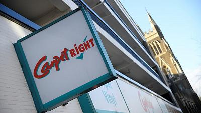 Carpetright sees recovery in UK as its turnaround pays off