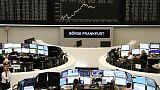 European shares fall as growth worries linger, Nokia tumbles