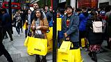 UK retailers report first rise in sales for five months - CBI