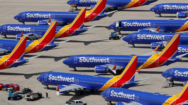 Southwest Airlines first-quarter profit hit by 737 MAX grounding