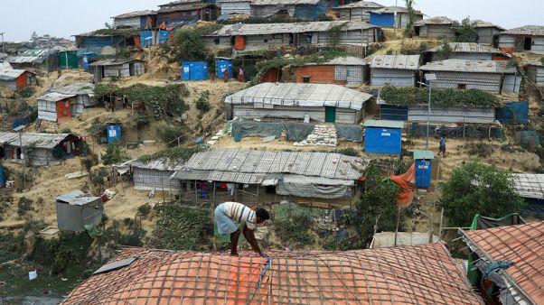 Rohingya should move to island to avoid landslides - Bangladesh minister