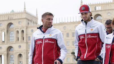 F1: Giovinazzi, risultati arriveranno